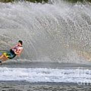 Water Skiing 16 Art Print