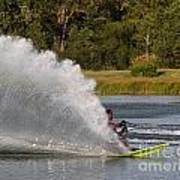Water Skiing 6 Art Print