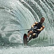 Water Skiing Magic Of Water 10 Art Print