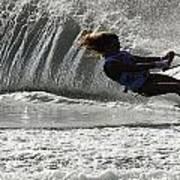 Water Skiing Magic Of Water 12 Art Print