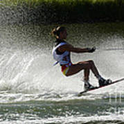Water Skiing Magic Of Water 16 Art Print
