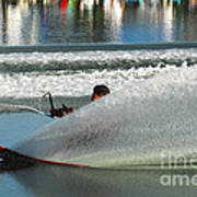 Water Skiing Magic Of Water 17 Art Print