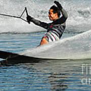 Water Skiing Magic Of Water 22 Art Print