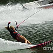 Water Skiing Magic Of Water 28 Art Print