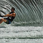 Water Skiing Magic Of Water 3 Art Print