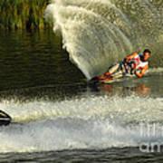 Water Skiing Magic Of Water 33 Art Print