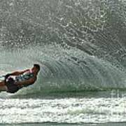 Water Skiing Magic Of Water 7 Print by Bob Christopher