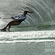 Water Skiing Magic Of Water 9 Art Print