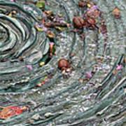 Water Spiral  Art Print