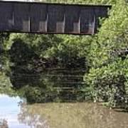 Water Under A Bridge Art Print
