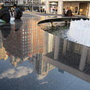 Lincoln Center Reflections Art Print