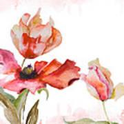 Watercolor Background Art Print