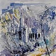 Watercolor Dinant 110172 Art Print