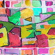 Watercolor Jazz Art Print by Mindy Newman