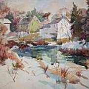 Watercolor Art Print by Peter Spataro
