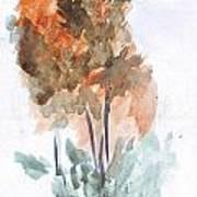 Watercolor Sketch Art Print