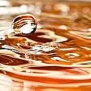 Waterdrop8 Art Print