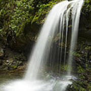 Waterfall At Springtime Print by Andrew Soundarajan