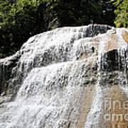 Waterfall At Treman State Park Ny Art Print
