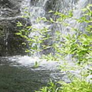 Waterfall In Vermont Art Print