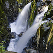 Waterfalls Of Sol Duc River, Olympic Art Print