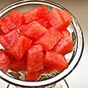 Watermelon Parfait 2 Art Print