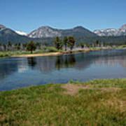 Waters Lead To Lake Tahoe Art Print