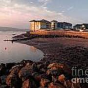 Waterside At Exmouth Art Print