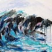 Wave Number 3 Art Print