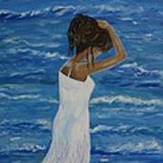Waves Of Beauty Art Print