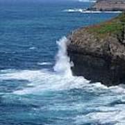 Waves On The Coast Art Print