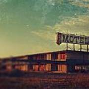 We Met At The Old Motel Art Print by Laurie Search