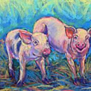 We Won't Be Bacon Art Print
