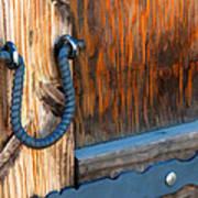 Weathered Door Art Print