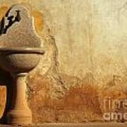 Weathered Water Faucet Art Print