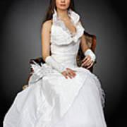 Wedding Portrait Art Print