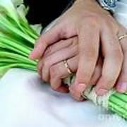 Wedding Rings Art Print