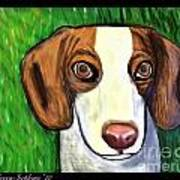 Wee Beagle Art Print