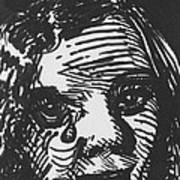 Weeping Woman Art Print by Louis Gleason