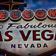 Welcome To Fabulous Las Vegas 2 Art Print