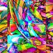 Welcome To My World Triptych Horizontal Art Print