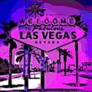 Welcome To Vegas No.2 Art Print