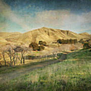 We'll Walk These Hills Together Art Print