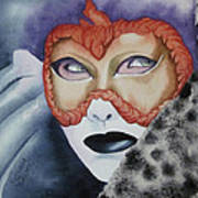 Well Worn Mask Art Print