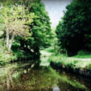 Welsh Canal Dream Art Print