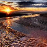 Welsh Sunset Art Print