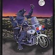 Werewolf Patrol Art Print