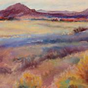 Western Landscape Art Print by Rita Bentley