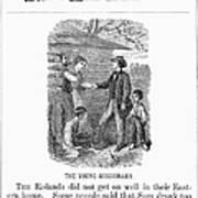 Western Missionary, 1876 Art Print