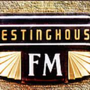 Westinghouse Fm Logo Art Print